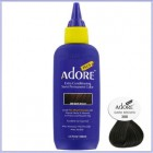 Adore Plus: Semi Permanent Hair Colour Dye - Dark Brown 388